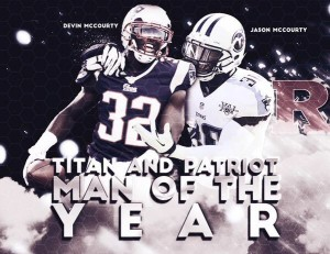 McCourty Twins Walter Payton Man of the Year