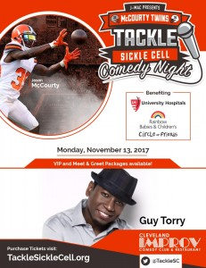 Tackle Sickle Cell Comedy Night - Cleveland