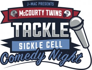 Tacle Sickle Cell - Comedy Night Logo Final