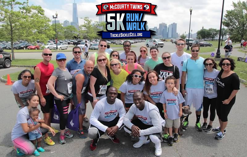 2019 McCourty Twins 5K Run/Walk - Tackle Sickle Cell